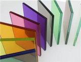 명확한 다채로운 PVB 및 Spg의 박판으로 만들어진 유리
