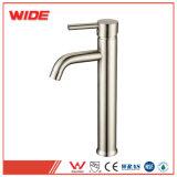 Einzelnes Loch-klassisches Badezimmer-Behälter-Hahn-Pinsel-Nickel-Handwaschhahn
