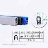 Profils de PVC d'équilibre de bord (ZM-D-10)