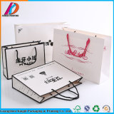 Изготовленный на заказ штейновая покрашенная роскошная хозяйственная сумка бумаги одежды