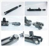 Doppio cilindro a semplice effetto agente del Rod dei cilindri idraulici dei cilindri idraulici