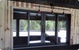 Fenêtre coulissante en verre réfléchie en plastique PVC de nouvelle conception