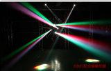 1개의 크리 사람 LED 광속 이동하는 맨 위 빛에 대하여 10W 소형 LED RGBW 4
