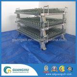 Tipo de elevação soldada Recipiente de Malha de Arame na carga e equipamento de armazenamento