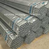 Tubulação de aço galvanizada mergulhada quente de carbono BS1387
