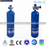 Peso sem emenda da capacidade 48kg da alta pressão 40L do cilindro de oxigênio de aço
