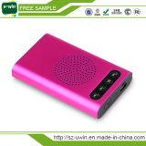 8000mAh de draagbare Bank van de Macht USB met Spreker Bluetooth