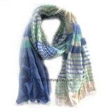 メンズによって編まれるカシミヤ織100%のアクリルのカシミヤ織のスカーフ