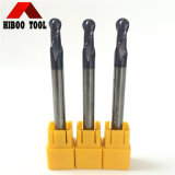 HRC50 Tungsten Carbide Ball End Milling Cutter