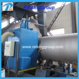 Máquina durable del chorreo con granalla de la pared del tubo de acero de la eficacia alta