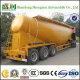 3マラウィの車軸36-60m3セメントタンクトラックのトレーラーのバルク粉のタンカー