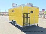 Dessin carré moderne King camions alimentaire Mobile plus fragile des distributeurs automatiques