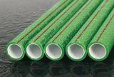 Polypropylen-gelegentliche Rohre weiß/grünes Plastikwasser-Rohr