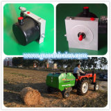 中国の工場供給の販売のための小さい円形の干し草の梱包機装置