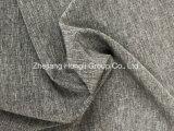 4-Way extensibles de polyester Tissu Two-Tone cationiques, effet de mélange