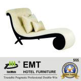 Seule chaise de Longue de sofa d'hôtel de conception (EMT-LC18)