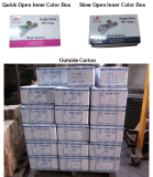Poliermessingeckventil mit Plastikgriff (YD-5013)
