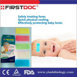 最上質の赤ん坊の熱の冷却のパッドが付いている新しく有効な冷却パッチ
