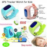 GPS van jonge geitjes/van het Kind het Draagbare Horloge van de Drijver met GPRS Plaats In real time H3