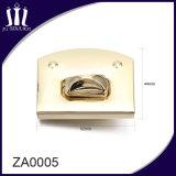 Fashion Zinc Alloy Material Handbag Turn Lock for Bag