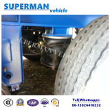 Dei 3 assi del camion rimorchio a base piatta semi con la sospensione del sacco ad aria in Africa
