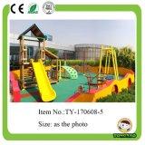 Cour de jeu extérieure de glissière en plastique extérieure neuve de gosses à vendre (TY-70291)