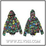 Дизайнер одежды оптовая торговля женщинами образом зимой утка вниз Padding Куртка с удлиненной худи