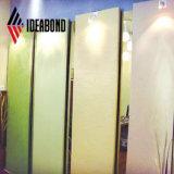 Polyester Ideabond Plus panneau composite aluminium à partir d'entreprise de construction