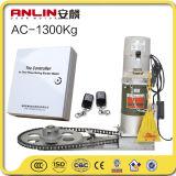 Una buena calidad AC1300kg Motor del obturador de rodillo residente con control remoto