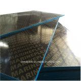 Negro/marrón 18mm película enfrentó el contrachapado para la construcción de encofrado de hormigón con precio competitivo