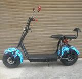 "2017 motocicleta elétrica adulta do ""trotinette"" elétrico gordo novo do pneu 1000W 60V 12ah"