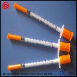 "La insulina estéril jeringa con aguja 27gx1/2"""