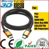 4096p*2160 p ЖК телевизор оранжевого цвета золота кабель HDMI для xBox PS4 (СИ120)