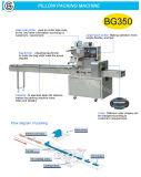 Llenado de gas nitrógeno Ajuste automático de la bolsa de pan de la máquina de embalaje