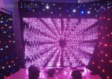 DJ Decoration LED Vision Curtain mit Flexible Star