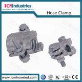 投資鋳造の炭素鋼の蒸気の連結クランプ