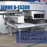 AC 모터 자동 귀환 제어 장치 CNC 포탑 펀치 기계 D-Es300