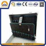 Ferramenta de alumínio portátil caso /armário com bolsos