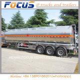 De productie van de Semi Aanhangwagen van de Tanker van de Brandstof van het Aluminium 45m3 voor Verkoop