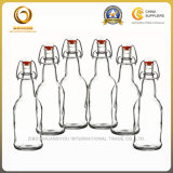 высокая белая бутылка пива 16oz стеклянная на сбываниях (1236)
