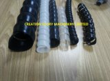 Пластмасса втулки высокого качества спиральн прессуя производящ машинное оборудование