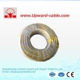 450/750V銅の平らなか円形PVC/PEによって絶縁される電線