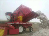 Machine de récolte mécanisée de coton de qualité d'approvisionnement de constructeur