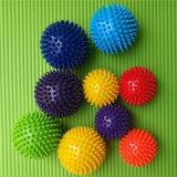 PVC Non-Toxic corps dur ball balle de rouleau avec hérissées de massage