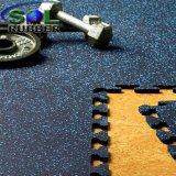 Тренажерный зал Anti-Microbial резиновый коврик на полу