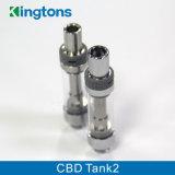 Tank 2 van het Ontwerp van Kingtons Unieke Hete Verkopende de Verstuiver van de Olie Cbd