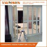 Kundenspezifische weiße hölzerne Plantage-Blendenverschluss-Luftschlitze für Haus