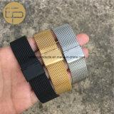 Light-Weight intercambiable de malla de acero inoxidable CORREA DE RELOJ