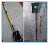 Лопаткоулавливатель сада с лопатой лопаткоулавливателя ручки стеклоткани стальной (S518fgl/S519fgl)