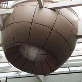 Panneaux en aluminium hyperboliques modernes pour le revêtement ou le plafond de mur